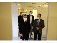 Vali Atay fizik tedavi hastanesini inceledi