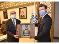 Bosna Hersek Büyükelçisi Alagic'ten Başkan Pekyatırmacı'ya ziyaret