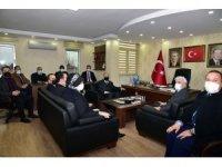 Vali Karadeniz'den siyasi parti il başkanlarına ziyaret