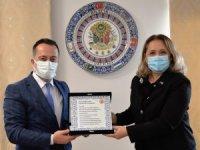 Kosova Cumhuriyeti İstanbul Başkonsolosu Novoberdaliu'dan Bilecik ziyareti