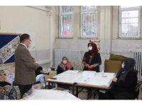 Kaymakam Türköz okulları inceledi
