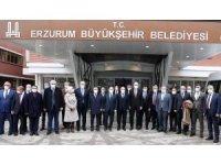 Ak Parti Genel Başkanvekili Prof. Dr. Kurtulmuş'tan Büyükşehir'e ziyaret