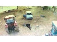 Mardin'deki dehşet anları güvenlik kamerasına yansıdı