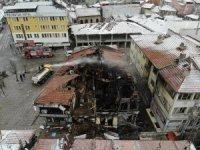 15 dükkânın yandığı olayda facianın boyutu gün ağardığında ortaya çıktı