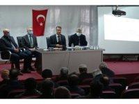 Gercüş'te kırsal kalkınma destekleri bilgilendirme toplantısı yapıldı