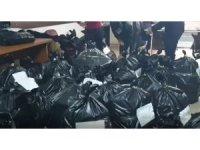 Jandarma delillere ulaşmak için çöp kutularına dahi baktı