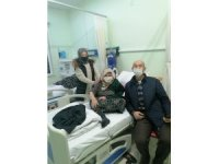 Türkeli'de 75 yaş üstü vatandaşlara korona aşısı vurulmaya başlandı