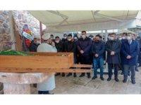 Başkan Kılınç'ın babası Muzaffer Kılınç son yolculuğuna uğurlandı