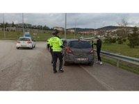 Yolda attığı drift MOBESE'ye takılınca cezadan kurtulamadı