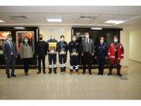 Aydın'da 112 Acil Sağlık Hizmetleri İstasyonlarına ödülleri takdim edildi