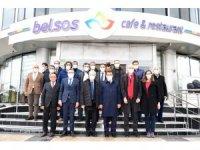 Fransız ve AB heyetinden Başkan Gürkan'a ziyaret