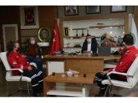 TAMGA'dan Başkan Şimşek'e ziyaret