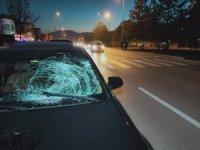 Otomobilin çarptığı işitme engelli yaya ağır yaralandı