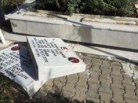 15 Temmuz şehidi ikiz polislerin mezarını tahrip eden 5 zanlı yakalandı