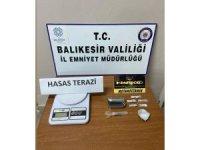 Balıkesir'de 9 şahsa uyuşturucu operasyonu