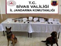 Sivas'ta uyuşturucu ve kaçakçılık operasyonu