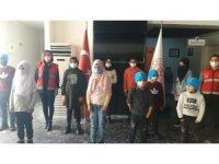 Savaşın çocukları arkeoloji müzesini gezdi