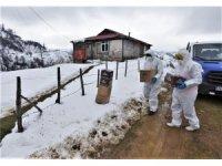 Karantina mahallesine Altınordu Belediyesi'nden yardım