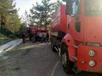 Hatay'ın Erzin ilçesinde orman yangını