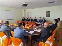 Alaçam'da korona virüsle mücadele toplantısı