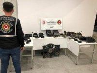 Sarp Sınır Kapısı'nda 36 bin liralık kaçak otomobil parçası ele geçirildi