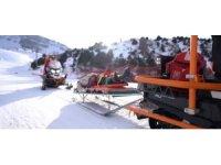 Kayak tutkunlarının huzur ve güvenliği Mehmetçik'e emanet