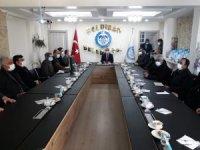 Başkan Ensari muhtarlarla istişare toplantısında bir araya geldi