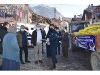 İskilip Belediyesi'nden bin aileye kömür yardımı