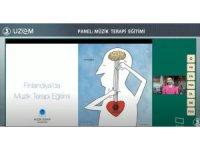 """""""Müzik Terapi Eğitimi"""" konulu panel"""