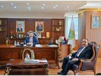 Tarım ve Orman Bakanı Yardımcısı Özkaldı, TÜDKİYEB'i ziyaret etti
