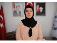 28 Şubat mağduru, Türkiye'nin ilk başörtülü başkanı, iki dönemdir hizmet ediyor