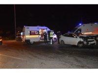 Sakarya'da otomobil ile cipin çarpışması neticesinde 2 kişi yaralandı