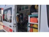 Hurda kesme makinasına elini kaptıran şahıs yaralandı