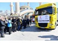 İdlip ve Azez'deki ihtiyaç sahiplerine bir yardım da Mamak'tan
