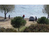 Bodrum'da kısıtlamalı deniz keyfi