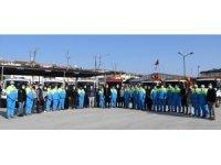 Kuşadası Belediyesi acil müdahale timleri 24 saat görevde