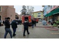 Osmancık'ta market yangını
