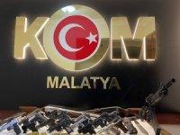 Malatya'da suç örgütüne ağır darbe