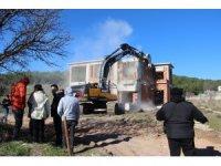 Bornova Belediyesinin yıkımına vatandaştan tepki