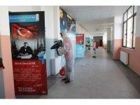 Kocasinan'da sağlıklı nesiller için okullar dezenfekte edildi