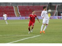 TFF 1. Lig: Balıkesirspor: 0 - Ankaraspor: 2 (İlk yarı sonucu)