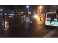 Kısıtlama saatinde dışarı çıkan alkollü şahıs polise zor anlar yaşattı