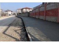 Baskı beton çalışmaları devam ediyor