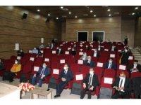 Siirt'te kadın erkek fırsat eşitliği bilgilendirme toplantısı yapıldı