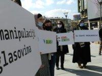 Kosova'da azınlık topluluklardan seçim protestosu