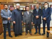 Karadağ Diyanet İşleri Başkanı Feyziç'ten Kavuncu'ya ziyaret