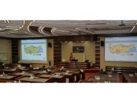 Erzurum'da İl Pandemi Kurulu toplantısı yapıldı