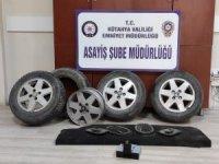 Kütahya'da otodan hırsızlık olaylarının zanlısı 3 kişi yakalandı