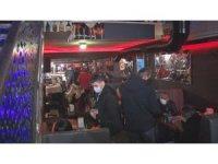 İzmir'de 'KADES' ihbarı ile gece kulübüne polis baskını