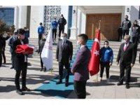 Yozgat'ta Bayrak teslim töreni düzenlendi